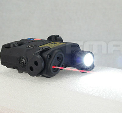 FMA PEQ LA5 Upgrade Version  LED White Light + Red Laser With IR Lenses BK 0074 • 49.99£