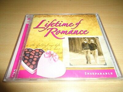 Time Life Music Lifetime Of Romance Double CD NEW SEALED - Inseparable • 2.99£