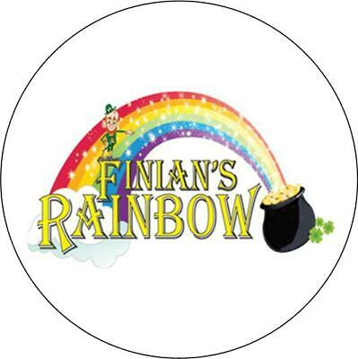 Finians Rainbow The Musical. Button Badge. 25mm.  • 1.91£