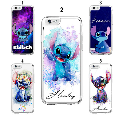 Personalised Custom Name Lilo Stitch Case For IPhone 6 7 8 XS SE 11 12 Mini Pro • 6.99£