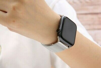 AU9 • Buy 【Apple Watch】Series 5 4 3 2 1 Milanese Magnetic Stainless Loop Strap Band Iwatch