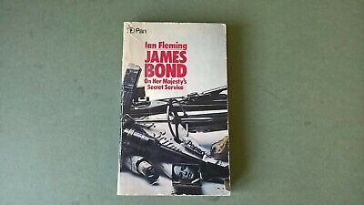 On Her Majesty's Secret Service - James Bond (Ian Fleming - 1972)  • 6£