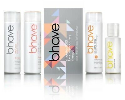AU132 • Buy Bhave Keratin Smoothing Therapy Rescue Shot Box