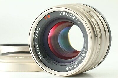 $389.99 • Buy 【TOP MINT】Contax Carl Zeiss Planar T* 45mm F/2 G Lens W/Hood From Japan D867J