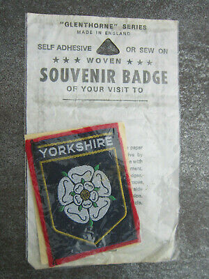 £3.99 • Buy Yorkshire Woven Cloth Patch Badge (L11S)