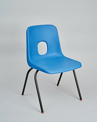 £15 • Buy Hille Robin Day Designed E Series Chair Blue Size 4