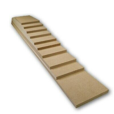 Wooden MDF Blank Plaques 150mm Width, Various Sizes And Thickness Available • 2.87£