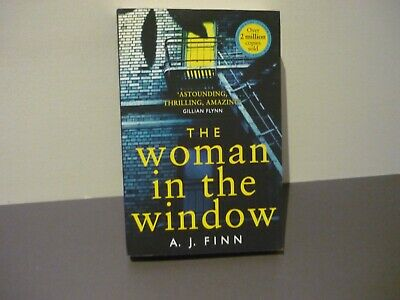 AU7 • Buy A J Finn Thriller - The Woman In The Window - Combine Postage & Cut Costs
