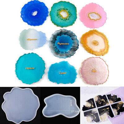 Casting Amber Epoxy Craft Mould Mold Making Resin Jewelry Tool Silicone Spiral