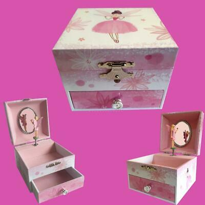 AU39.95 • Buy EXQUISITE Fairy Musical Jewellery Box Birthday Christmas Girl's Gift