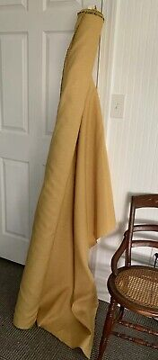 $14 • Buy Herman Miller Vintage Commercial  Upholstery Fabric Mineral Yellow Honey Color