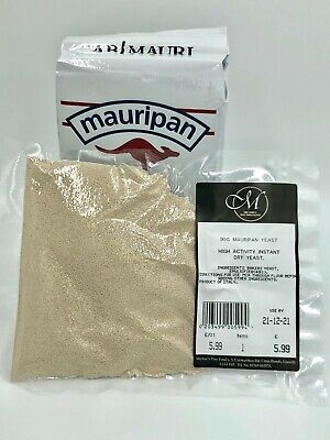 90 Grams Mauripan Dry Bakers Baking Bread Yeast Fast Rising Acting Best You Get. • 2.99£