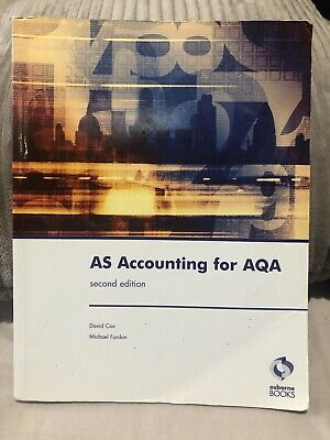 £17.99 • Buy AS Accounting For AQA: Second Edition