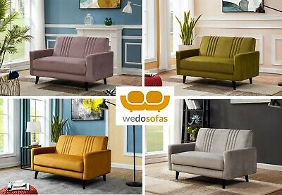 £249 • Buy Velvet Compact Sofas 2 Seaters - FREE NEXT DAY DELIVERY Riva Range
