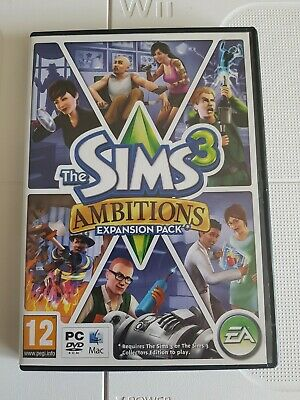 The Sims 3: Ambitions - Expansion Pack PC Or Mac DVD-ROM Game - FREE UK P&P • 6.99£