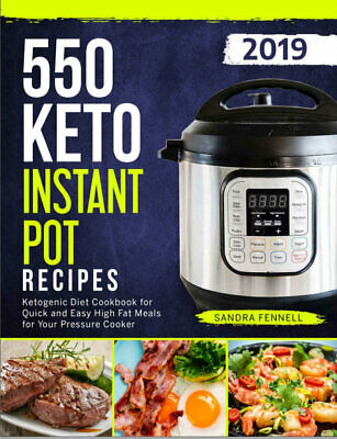 $1.99 • Buy 550 Keto Instant Pot Recipes – Ketogenic Diet Cookbook For Quick And (((P.D.F)))