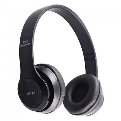 $ CDN14.42 • Buy Over Ear Foldable Stereo Noise Cancelling Headset Bluetooth Wireless Headphones