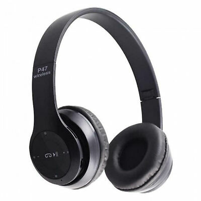 $ CDN14.50 • Buy Over Ear Foldable Stereo Noise Cancelling Headset Bluetooth Wireless Headphones