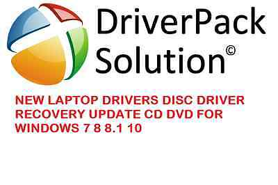 New Laptop Drivers Disc Driver Recovery Update Cd Dvd For Windows 7 8 8.1 10 • 2.89£