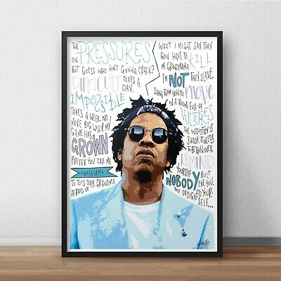 £11.99 • Buy Jay-Z Poster / Print / Wall Art A5 A4 A3 / Rapper / Empire State Of Mind