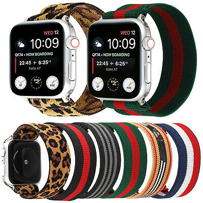 $ CDN12.17 • Buy Hair Band IWatch Strap For Apple Watch Series 5 Women Girls Leopard Print Style