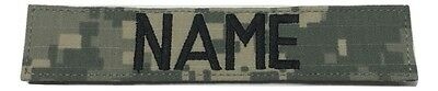 $4.75 • Buy ACU  Custom Name Tape With Fastener 1 X 5  Length - US Army Military