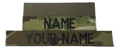 $2.95 • Buy Multicam OCP Custom Name Tape, With Fastener, Sew-On - US Army Military Tape
