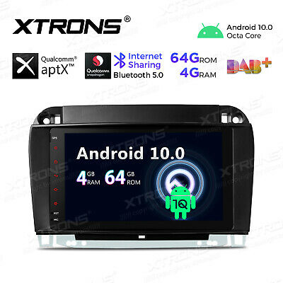 $279.99 • Buy XTRONS 7  Android 10.0 Car GPS Stereo Radio For Mercedes Benz S-W220 S400 S430
