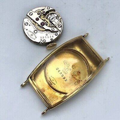 Vacheron Constantin 1920's Large Banana Case 18K Gold Project With Orig Movement • 3,795£