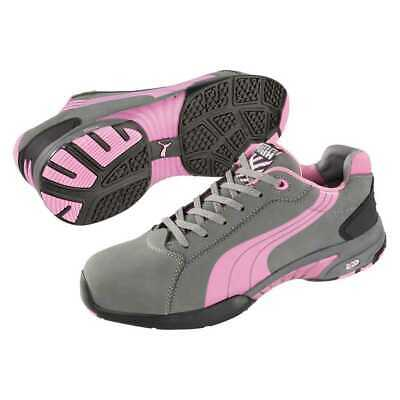 AU59.99 • Buy Puma Women's Balance Grey/Pink Steel Toe Cap Safety Shoes 642865--Clearance