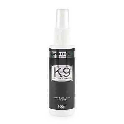 DOG COLOGNE / PERFUME Ancol K-9 100ml. Keeps Your Dog Smelling Fresh! • 5.99£
