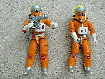 $74.99 • Buy CUSTOM SPACE 1999 (2) 3.75  ACTION FIGURES For Mattel Eagle 1 Weapons Helmets