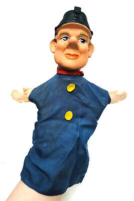 $19.99 • Buy Vintage Hand Puppet Rubber Head Police Policeman Mr Rodgers Rogers Neighborhood