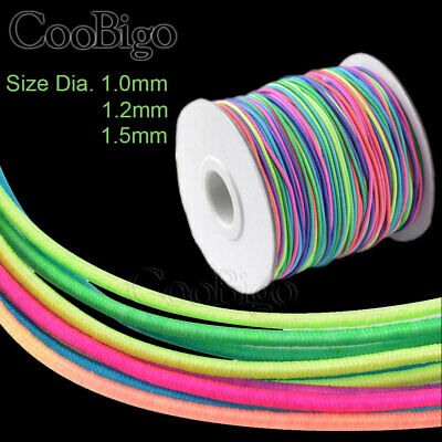 $ CDN4.43 • Buy Stretch Elastic Cord Wire 1mm~1.5mm Rope Bracelet Necklace String Bead Accessory