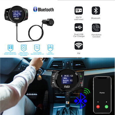 AU23.99 • Buy USB Car Kit LCD SD FM Transmitter MP3 Player Magnet Handsfree Wireless Bluetooth