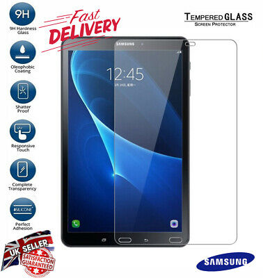Genuine Tempered Glass Film Screen Protector For Samsung Galaxy Tab A 10.1  T580 • 3.49£