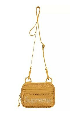 $ CDN123.02 • Buy Supreme Small Shoulder Bag Ss20 Gold Brand New 100% Authentic