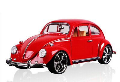 1:18 Vintage VW Beetle Superior 1967 Model Car Diecast Gift Toy Vehicle Kids Red • 26.31£