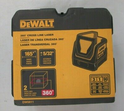 $160 • Buy Brand New DEWALT DW0811 Line Laser, Self Leveling, 360 Degree And Vertical Line