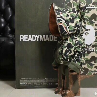 $1895 • Buy Bearbrick 1000% Readymade X Army Green Medicom Be@rbrick  2020