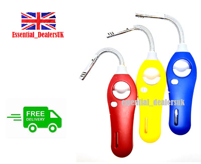£3.99 • Buy 3 X New Electronic Gas Lighter Cooking Kitchen Accessory Flexible Safety Lock