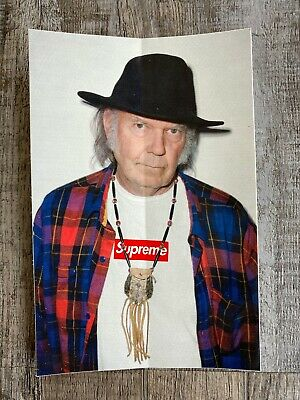 $ CDN25.52 • Buy Supreme Neil Young Sticker - Ss15 - 100% Authentic