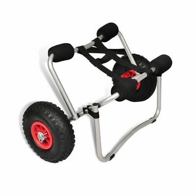 AU58.75 • Buy KAYAK BEACH TROLLEY With Soft Inflatable Wheels ( NOT HARD ) + Strap TOP QUALITY