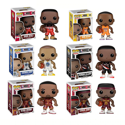 $14.99 • Buy FUNKO POP Basketball Star NBA Action Figure Collectible Model Toy For Fans