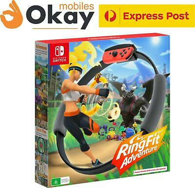 AU179 • Buy Genuine Ring Fit Adventure Game Nintendo Switch - BRAND NEW EXPRESS POST