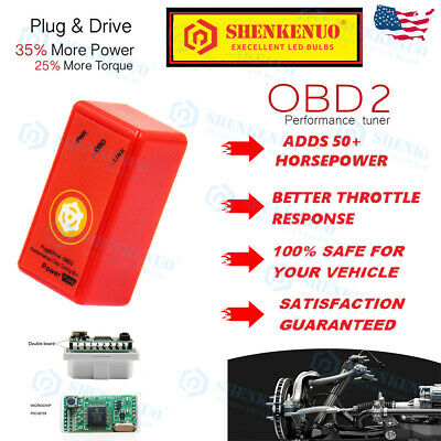 $42.65 • Buy For 2005-2014 Ford Mustang Performance Tuner Chip -High Power Tuning Programmer
