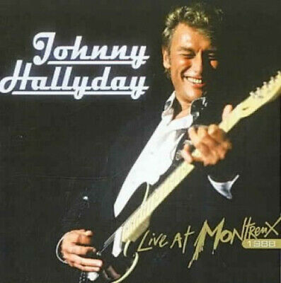 AU14.64 • Buy Live At Montreux 1988 By Johnny Hallyday.