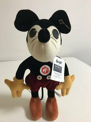 $653 • Buy Steiff X Disney  WALT DISNEY ARCHIVES COLLECTION Limited Mickey Mouse Plush