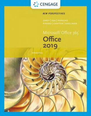 AU127 • Buy New Perspectives Microsoft Office 365 & Office 2019 Introductory.