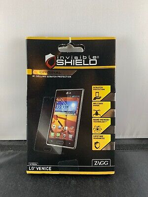 $5 • Buy ZAGG Invisible Sheild HD Clear Screen Protector . For LG Venice